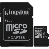 Card Memorie MicroSD Kingston, 16GB, Select Plus, Clasa 10 UHS-I Performance