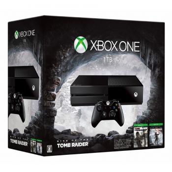 XBOX ONE 1TB TOMB RAIDER CONSOLE W DLC GR