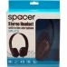 Casti Spacer SPK-205 cu microfon black