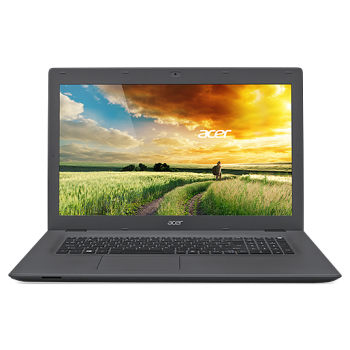 "Laptop Acer Aspire E5-772G-30FQ 17.3"" HD+ LED backlit LCD Glare, Procesor Intel Core i3-4005U (1.7GHz, 3MB), Video dedicat NVIDIA GeForce 940M 2GB VRAM, RAM 4GB DDR3 Low Voltage Memory, HDD 1TB 2.5"" 5400rpm 9.5mm, DVD-Super 8X Multi DL drive, SD"
