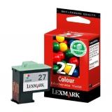 Cartus Cerneala Lexmark Nr.27 Color Higher Yield 229 Pagini for X72, X74, X75, i3, X1100, X1200 Series, X2550, X2170, Z33, Z34, Z35, Z510 10NX227E