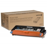 Cartus Toner Xerox 106R01400 Cyan High Capacity 5900 Pagini for Phaser 6280DN, Phaser 6280N