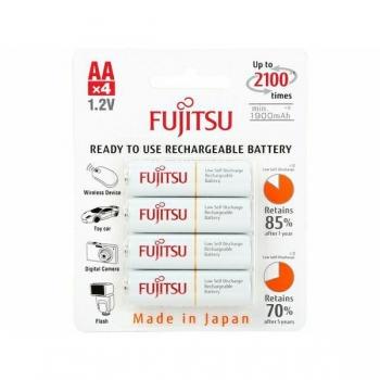 Fujitsu WHITE R6/AA 1900 mAh - 4 buc. blister HR-3UTCEX-4B