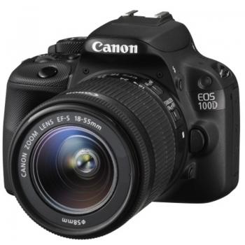 CANON PHOTO EOS100D1855III 18MP BLACK