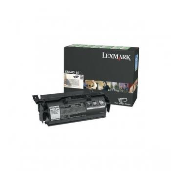 Cartus Toner Lexmark X654X11E Black Extra High Yield Return Program 36000 pagini for X654DE, X656DTE, X658DFE, X658DME, X658DTFE, X658DTME