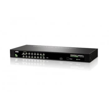 Switch KVM Aten CS1316 16 porturi PS/2 USB W/230V ADP CS1316-AT-G