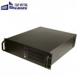 "Carcasa rack 19""/3U/545mm cu manere, se pot monta placi de baza ATX E-ATX, 2x5.25"" la vedere, 7x3.5"" ascunse, removable, 2x6cm si 2x8cm coolers, 2x USB, fara sursa (se poate monta sursa format ATX), filtru de praf pe front panel, 2xUSB, 12."