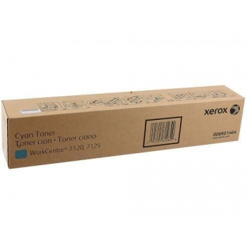 Cartus Toner Xerox 006R01464 Cyan 15000 Pagini for WorkCentre 7120, WorkCentre 7125