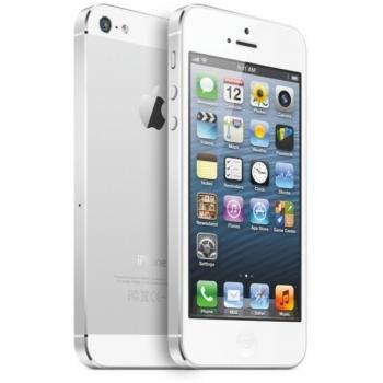 "Telefon Mobil Apple iPhone 5 White 4"" 640 x 1136 Gorilla Glass Retina Display A6 Dual Core 1,2 GHz memorie interna 16GB 3G 4G iOS6 IP516GBWHT"