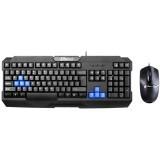 Xeiyo T503 Gaming Combo, rezolutie mouse: 1000 DPI, numar butoane mouse: 3, conector tastatura: USB, conector mouse: USB