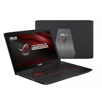 "Laptop Asus ROG GL552JX-DM018D Intel Core i7 Haswell 4720HQ up to 3.6GHz 12GB DDR3L HDD 1TB SSD M.2 128GB nVidia GeForce GTX 950M 4GB 15.6"" Full HD"