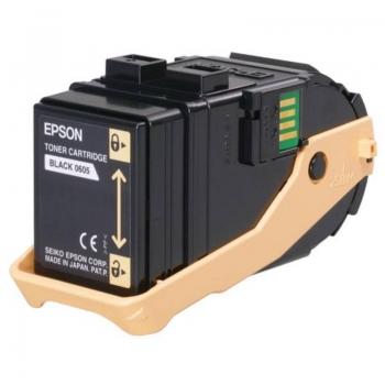Cartus Toner Epson C13S050605 Black 6500 Pagini for Aculaser C9300D2TN, C9300D3TNC, C9300DN, C9300DTN, C9300N, C9300TN