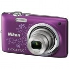 Camera Foto Digitala Nikon CoolPix S2700 16.0 MP Zoom Optic 6x Purple Lineart VNA305E1