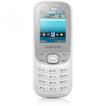 Telefon Mobil Samsung E2202 White Dual SIM SAME2202WHT