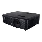 Proiector OPTOMA DS348, DLP 3D, SVGA 800x 600, 3000 lumeni, 20.000:1,lampa 6000 ore EcoMode, HDMI, USB,Wireless ready, Kensingtonlock, protejare cu parola, greutate 2.17 kg, telecomanda, boxe 2,culoare negru