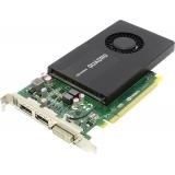Placa video PNY NVIDIA VCQK2200-PB, Quadro K2200, 4GB GDDR5, 128 bit, 80 GB/s, 1*DVI, 2*DP, FAN