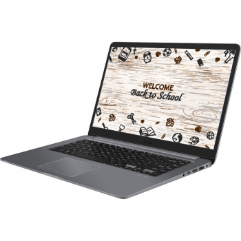 Laptop Asus VivoBook S510UN-BQ255 Intel i7-8550U Kaby Lake R up to 4GHz 8GB DDR4 HDD 1TB nVidia GeForce MX150 2GB GDDR5 Tast iluminata EndlessOS
