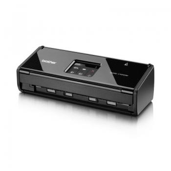 Brother ADS1100WYJ1 | A4 | DUAL CIS | Sheet-fed | USB 2.0 High Speed | Retea wireless | Alimentator de documente | Scanare duplex | 600 x 600 DPI | 30 bit | 24 bit | 16 ppm | 500 | 2.5 kg | 380 x 170 x 207 mm | 14 W