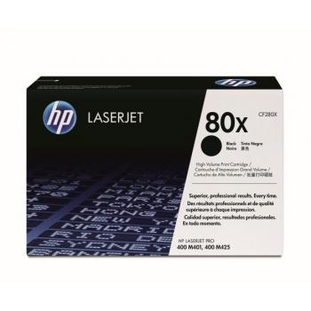 Cartus Toner HP Nr. 80X Black 6900 Pagini for LaserJet Pro 400 M401, 400 M425 CF280X