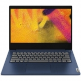 Laptop Lenovo IdeaPad 3 14IIL05 cu procesor Intel Core i7-1065G7 pana la 3.9 GHz, 8GB, 512GB SSD, Intel Iris Plus Graphics, FreeDOS, Abyss Blue