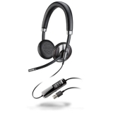 USB headset with Active Noise Cancelling: Smart Sensor technology for intelligent call management, Dynamic EQ function, premium wideband audio for PC, noise-canceling microphone, SoundGuard and ultra-soft ear cushions