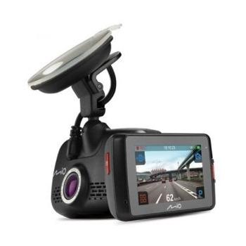 Mio Mivue 658 camera auto inregistrare Extreme HD 2304 x 1296 la 30 cadre pe secundÒ - cu cea mai recentÒ tehnologie H.264 pentru vi deoclipuri de ¯naltÒ calitate, la o dimensiune a fi#ierului mai micÒ; ecran tactil de 2, 7'; Monitorizare GPS; Ungh
