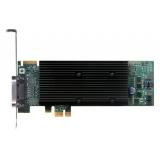 Placa Video Matrox M9120 Plus LP 512MB DDR2 PCI-E x1 LFH-60 la 2 x DVI M9120-E512LAU1F
