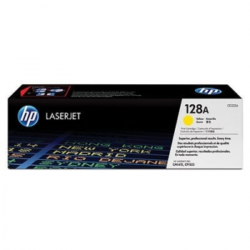 Cartus Toner HP Nr. 128A Yellow 1500 Pagini for Color LaserJet CM1415NF MFP, CM1415NFW MFP, CP1525N, CP1525NW CE322A