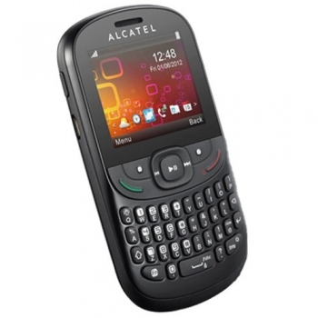 Telefon Mobil Alcatel One Touch 358D Black Dual SIM tastatura qwerty ALC358DBLK
