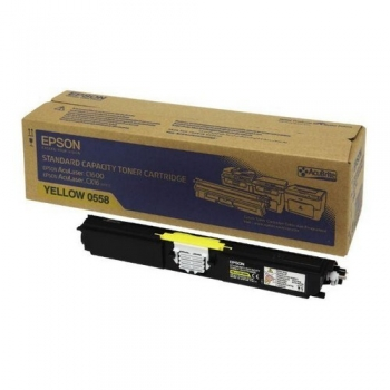 Cartus Toner Epson C13S050558 Yellow 1600 Pagini for Aculaser C1600, CX16, CX16DNF, CX16DTNF, CX16NF