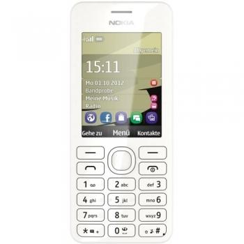 Telefon Mobil Nokia 206 White Camera Foto 1.3MPx NOK20WH
