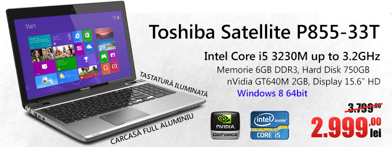 Toshiba Satellite P855-33T