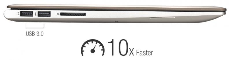 USB 3.0 pentru transferuri de 10x mai rapide