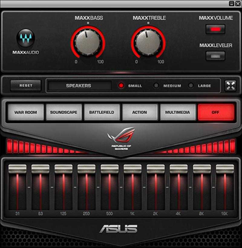 ROG AudioWizard