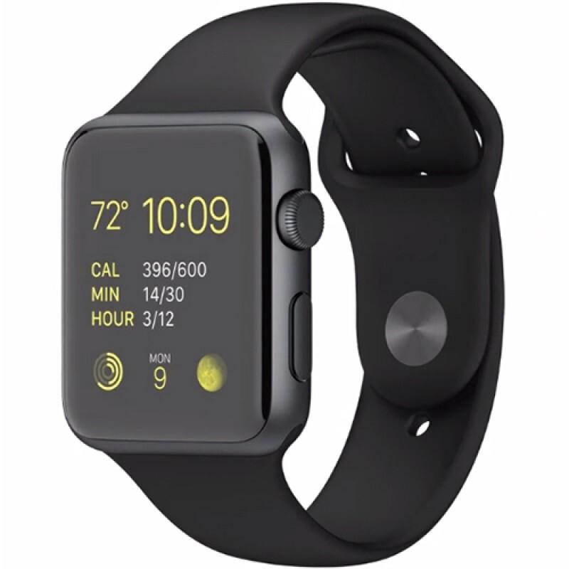 Apple Watch Sport 42mm Aluminiu Black MJ3T2