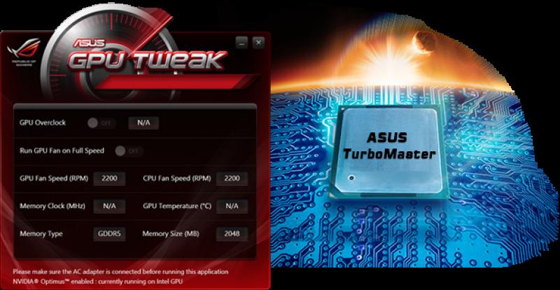 ASUS TurboMaster pentru accelerarea performanțelor grafice
