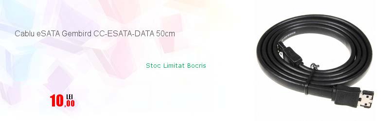 Cablu eSATA Gembird CC-ESATA-DATA 50cm