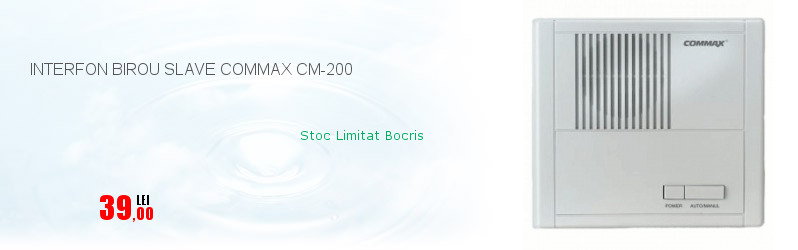 INTERFON BIROU SLAVE COMMAX CM-200