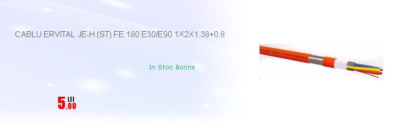 CABLU ERVITAL JE-H (ST) FE 180 E30/E90 1X2X1.38+0.8