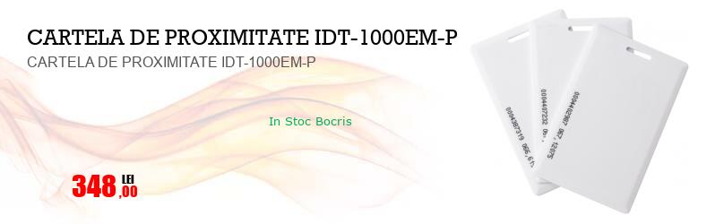 CARTELA DE PROXIMITATE IDT-1000EM-P