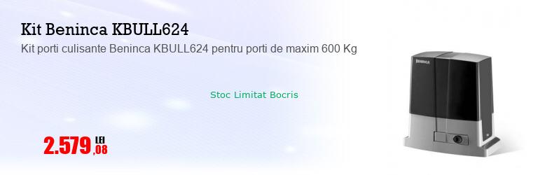 Kit porti culisante Beninca KBULL624 pentru porti de maxim 600 Kg