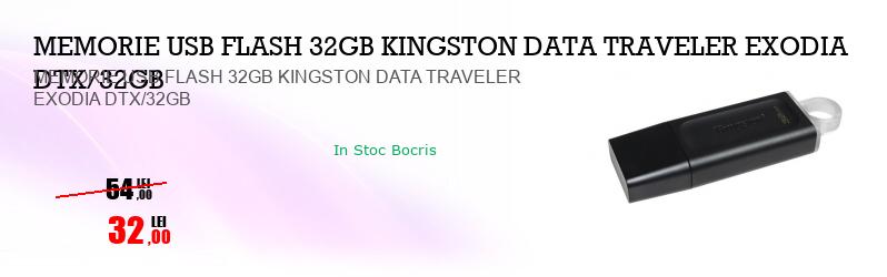 MEMORIE USB FLASH 32GB KINGSTON DATA TRAVELER EXODIA DTX/32GB