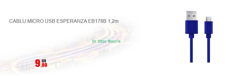 CABLU MICRO USB ESPERANZA EB178B 1,2m