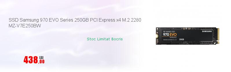 SSD Samsung 970 EVO Series 250GB PCI Express x4 M.2 2280 MZ-V7E250BW