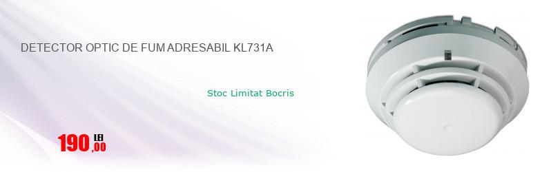 DETECTOR OPTIC DE FUM ADRESABIL KL731A