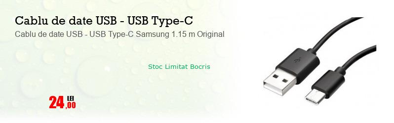 Cablu de date USB - USB Type-C Samsung 1.15 m Original