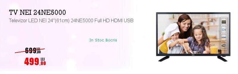 """Televizor LED NEI 24""""(61cm) 24NE5000 Full HD HDMI USB"""