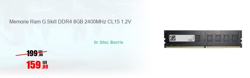 Memorie Ram G.Skill DDR4 8GB 2400MHz CL15 1.2V