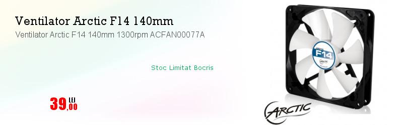 Ventilator Arctic F14 140mm 1300rpm ACFAN00077A