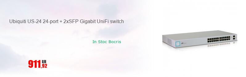 Ubiquiti US-24 24-port + 2xSFP Gigabit UniFi switch